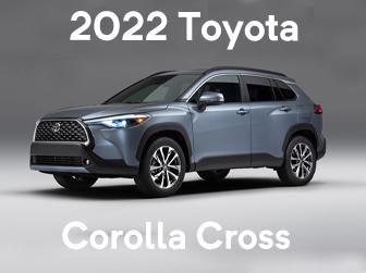 2022 Toyota Corolla Cross arrives next month